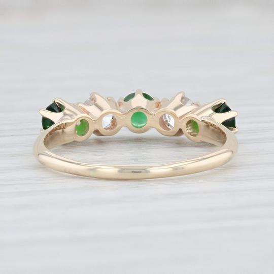 Other 1.14ctw Emerald Diamond Ring - 14k Size 8.5 Stackable Gemstone May Image 3