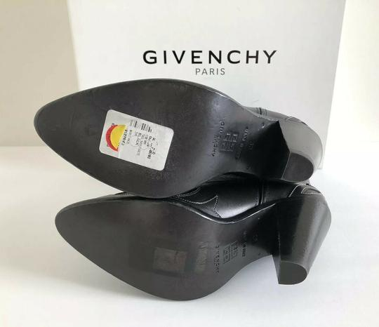 Givenchy Embroidered Western Cowboy Wings Black Boots Image 5