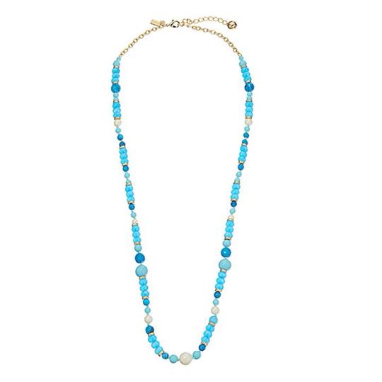 Kate Spade KATE SPADE * Azure Allure Turquoise Long Necklace Image 2