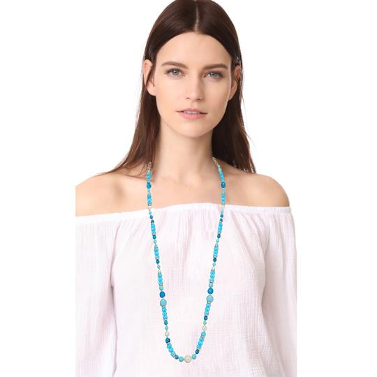 Kate Spade KATE SPADE * Azure Allure Turquoise Long Necklace Image 3