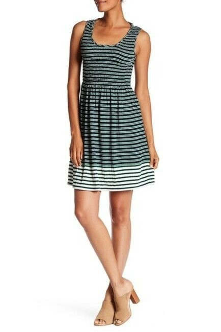 Preload https://img-static.tradesy.com/item/26668243/max-studio-multicolor-striped-fit-and-flare-short-casual-dress-size-16-xl-plus-0x-0-0-650-650.jpg