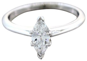 Tiffany & Co. Tiffany & Co. Marquise Cut .70ct GIA Platinum Diamond Engagement Ring