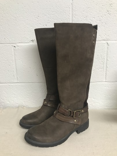 Earth Sierra Tall Riding Brown Boots Image 1
