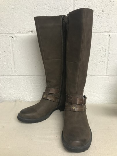 Earth Sierra Tall Riding Brown Boots Image 2