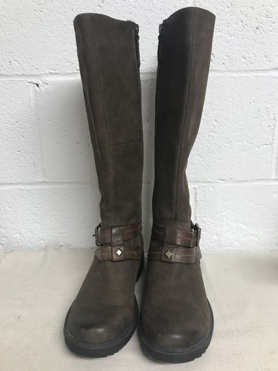 Earth Sierra Tall Riding Brown Boots Image 3