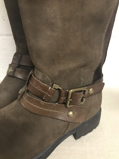 Earth Sierra Tall Riding Brown Boots Image 5