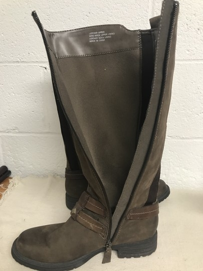 Earth Sierra Tall Riding Brown Boots Image 7