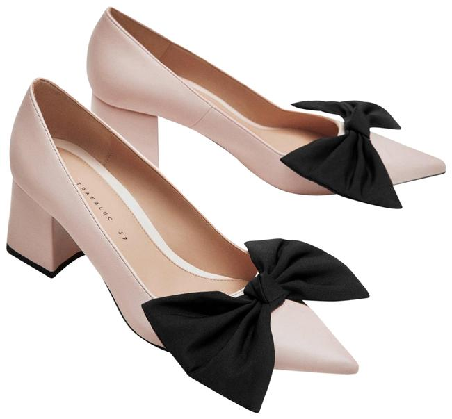 Zara Pink New Colorblock Bow Ref 3240/301 Pumps Size US 6 Regular (M, B) Zara Pink New Colorblock Bow Ref 3240/301 Pumps Size US 6 Regular (M, B) Image 1