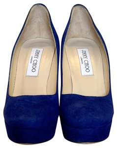 Jimmy Choo Electric Blue Pumps