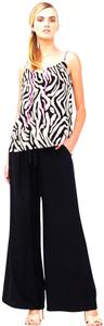 Alice & Trixie Wide Leg Pants Black