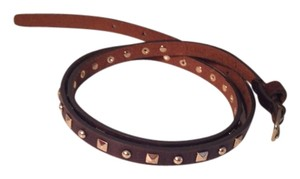 J. Crew Skinny Leather Studded Belt