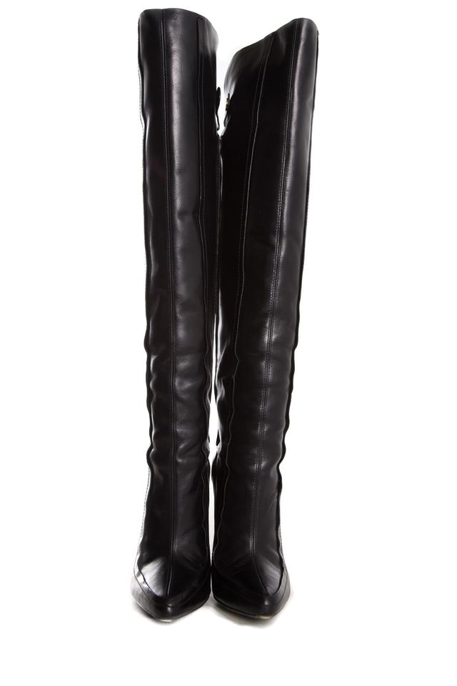 factory outlets uk cheap sale limited guantity Alexander Wang Black Over The Knee Boots/Booties Size EU 36.5 ...