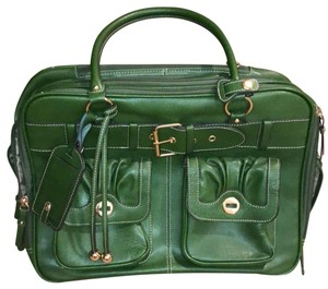 Franklin Covey Green Travel Bag