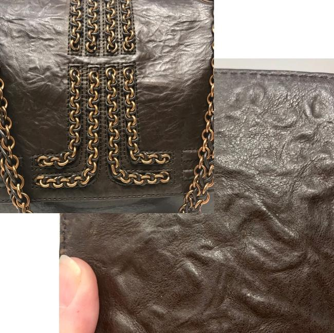Lanvin Chain Limited Edition Brown Lambskin Leather Shoulder Bag Lanvin Chain Limited Edition Brown Lambskin Leather Shoulder Bag Image 12