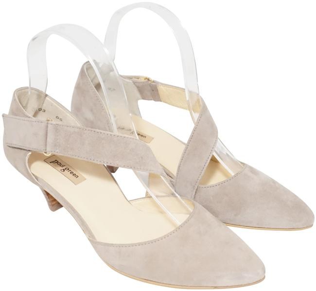 Item - Beige Desire Mary Jane Pointed Suede At 3.5/ Pumps Size US 6 Regular (M, B)