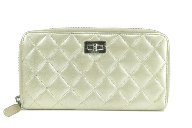 Item - Gold Zippy 18ck0109 Quilted Leather Zip Around L-gusset Long Wallet