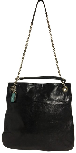 Item - Handbag Black Leather Cross Body Bag