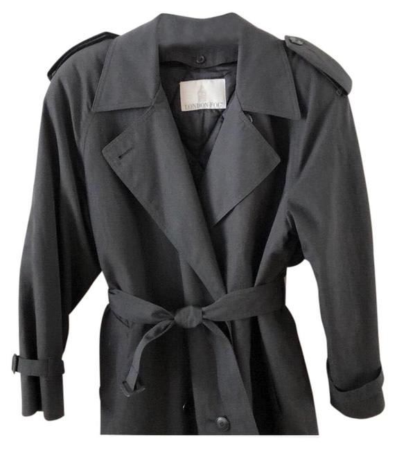 Item - Black Quilted Lining Warm Coat Size 6 (S)