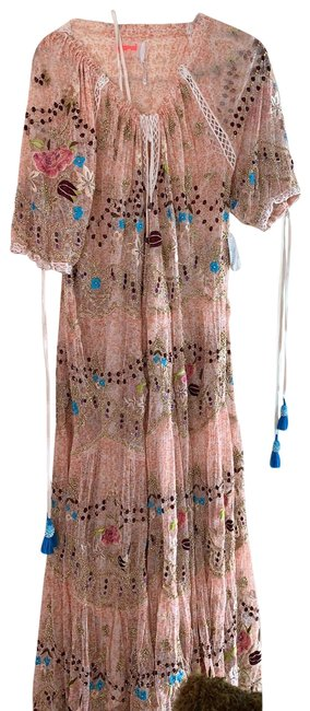 Item - Multi Colored Long Casual Maxi Dress Size 8 (M)