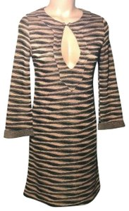 Missoni short dress Black/ Pink Italy Sparkle Tunic on Tradesy