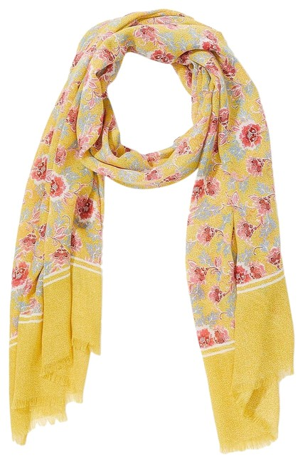 Item - Yellow Floral Scarf/Wrap