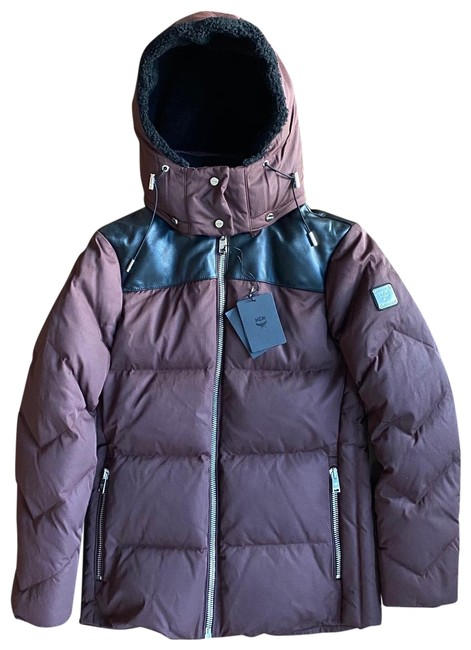 Item - Brown New Down Bubble with Detachable Hood Coat Size 6 (S)