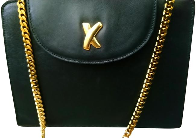 Paloma Picasso Black Leather Cross Body Bag Paloma Picasso Black Leather Cross Body Bag Image 2