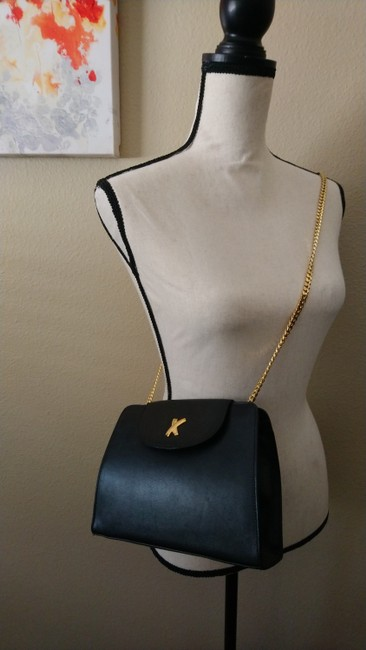 Paloma Picasso Black Leather Cross Body Bag Paloma Picasso Black Leather Cross Body Bag Image 3