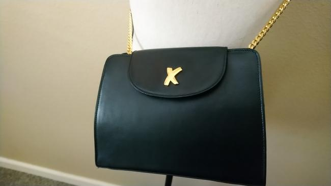 Paloma Picasso Black Leather Cross Body Bag Paloma Picasso Black Leather Cross Body Bag Image 4