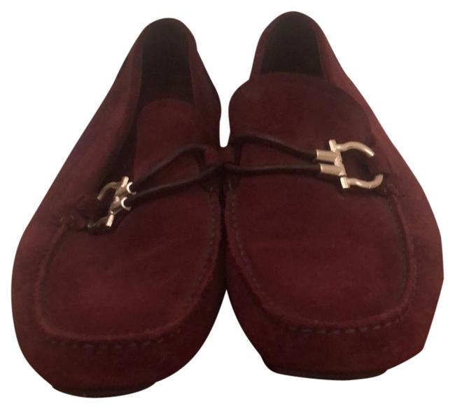 Item - Burgundy Mahogany Buckle Suede Driver Boots/Booties Size US 10 Extra Wide (Ww, Ee)