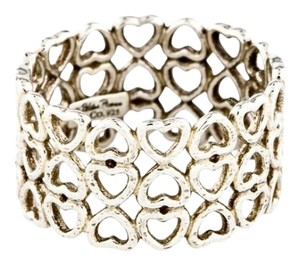 Tiffany & Co. Tiffany & Co. Silver Paloma Picasso Crown Of Hearts Ring