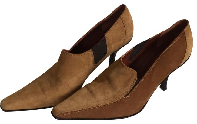 Item - Caramel Brown Suede Two-toned Boots/Booties Size US 10 Regular (M, B)
