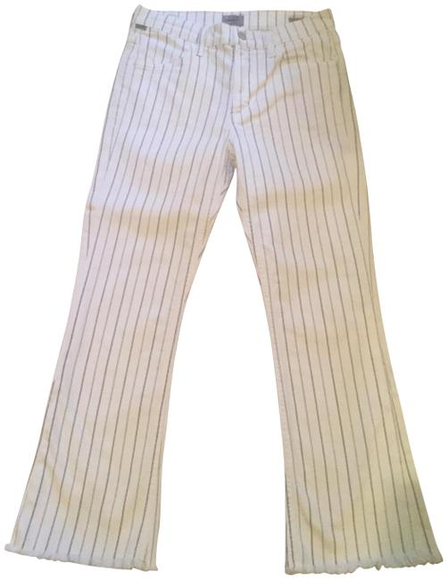 Item - Black and White Capri/Cropped Jeans Size 27 (4, S)
