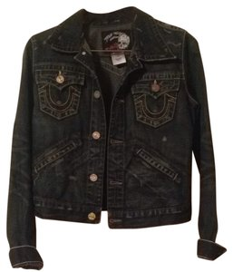 True Religion Dark Denim Jacket