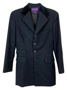 Ralph Lauren Collection Wool Black Blazer