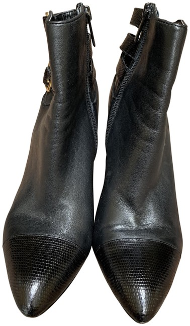 Item - Black Red Boots/Booties Size US 8 Regular (M, B)