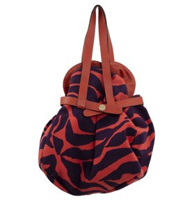 Borbonese Clutch Drawstring Colorful Casual Party Shoulder Bag