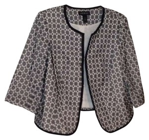 Lane Bryant Black and White Jacket