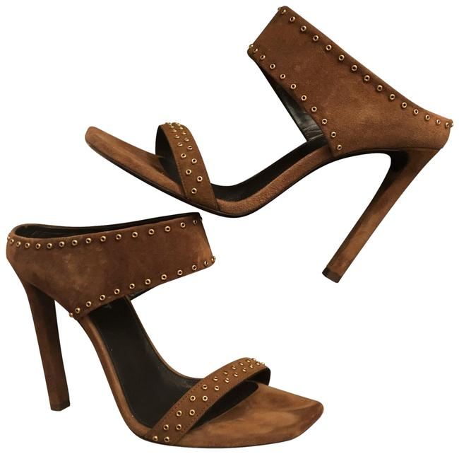 Item - Brown Mica Pumps Size EU 38 (Approx. US 8) Regular (M, B)