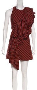 Petersyn short dress red on Tradesy