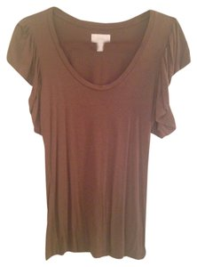Anthropologie T Shirt Brown
