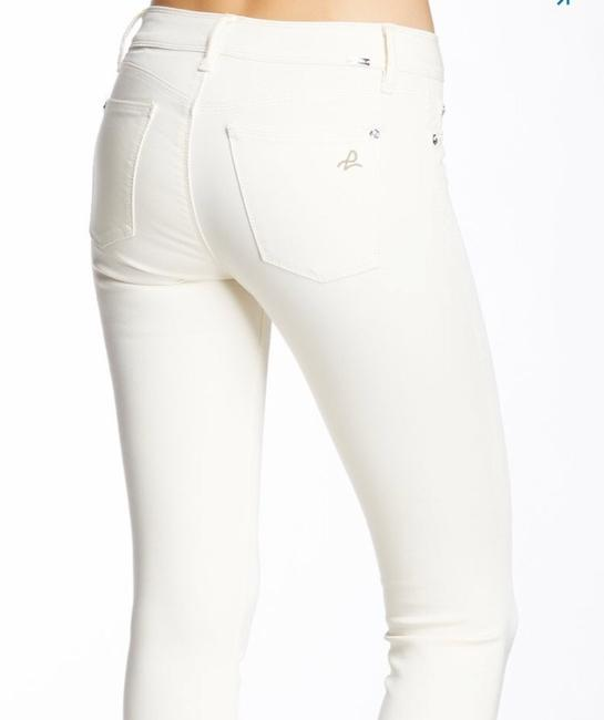 DL1961 Cream Cannes Angel Mid Rise Ankle Skinny Jeans Size 4 (S, 27) DL1961 Cream Cannes Angel Mid Rise Ankle Skinny Jeans Size 4 (S, 27) Image 2