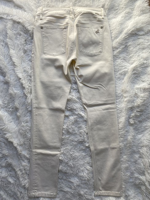 DL1961 Cream Cannes Angel Mid Rise Ankle Skinny Jeans Size 4 (S, 27) DL1961 Cream Cannes Angel Mid Rise Ankle Skinny Jeans Size 4 (S, 27) Image 4