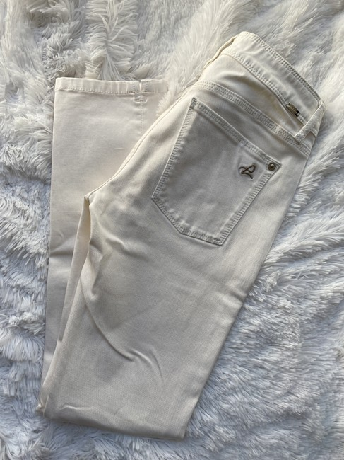 DL1961 Cream Cannes Angel Mid Rise Ankle Skinny Jeans Size 4 (S, 27) DL1961 Cream Cannes Angel Mid Rise Ankle Skinny Jeans Size 4 (S, 27) Image 5