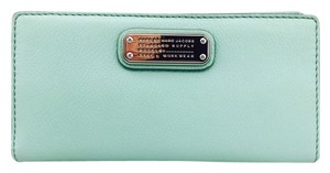 Marc by Marc Jacobs Marc By Marc Jacobs Turquoise Bifold Walter New