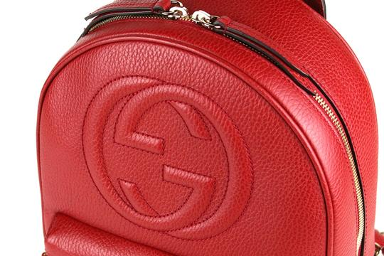 Gucci Leather Backpack Image 8