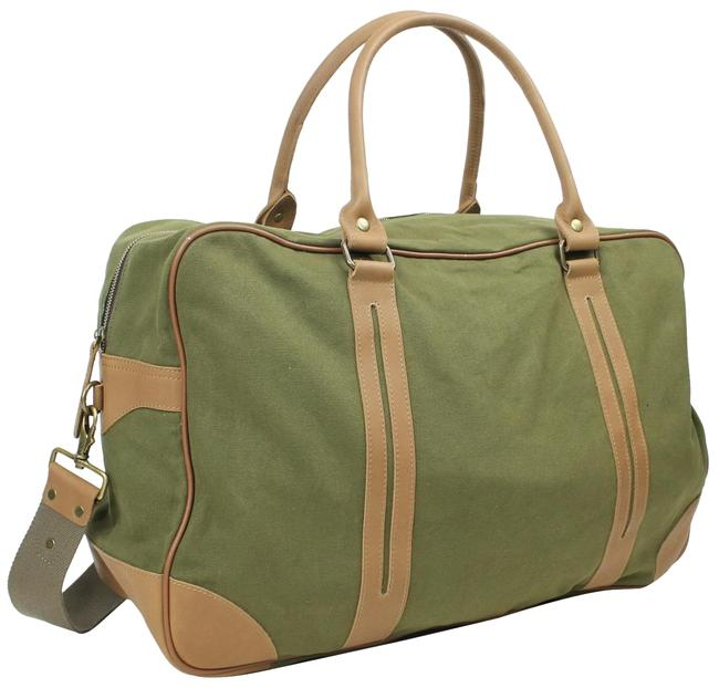 Item - Duffle Classic Large C77 Green Canvas Weekend/Travel Bag