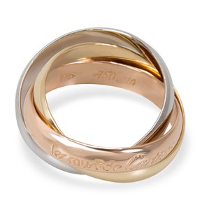 Cartier Cartier Le Must De Cartier Trinity Ring in 18K Yellow, White & Rose