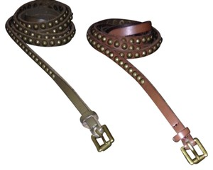 Nordstrom Skinny Leather Stud Belts