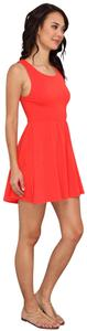 Red Maxi Dress by Vans Babydoll